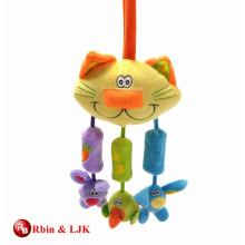 Gewohnheit fördernde reizende Babykrippe hängendes Spielzeug