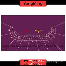 Baccarat Table Layout 10-P Purple (YMBL01P1)