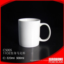 nuevo diseño porcelana por mayor stock gres de viaje taza de agua