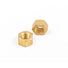 High Quality Delicate 2019 New Product Fasteners hardware bolts nuts GOLD Finished Hex Nut for industry for sale