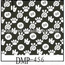 mehr als fünfhundert Muster Baumwolle Uni