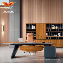Luxury Modern Wooden Boss CEO Executive Desk Office Furniture