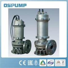 Bomba de aguas residuales sumergible de 1.5 kw