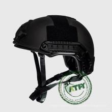 Mich Level NIJ IIIA Тактический бронезащитный шлем Баллистический военный боевой шлем с креплением NVG и боковым поручнем