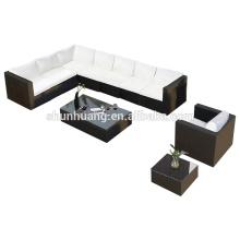 new style PE rattan sofa sets garden wicker furniture