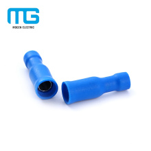 Blue Brass Tin Plating Insulated Bullet Female Disconnects