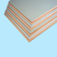 Revestido de cobre base de aluminio laminadas