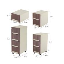 Simple Japanese Style Plastic wardrobe plastic storage cabinet