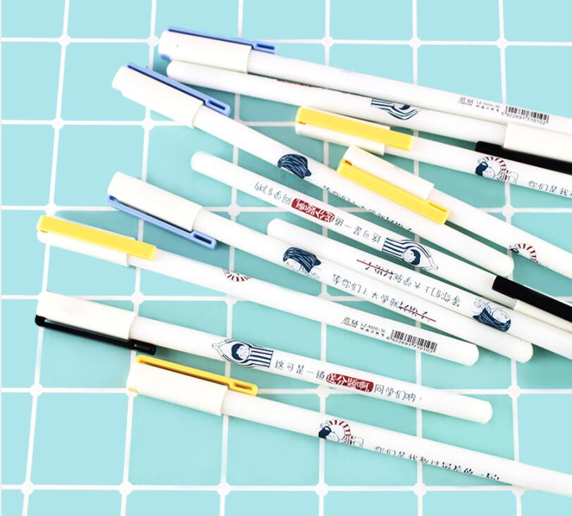Alunos Gel Ink Pen Packs Conjunto Promocional