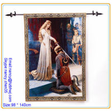 jacquard Wall tapestry rod,tapestry rod for decoration