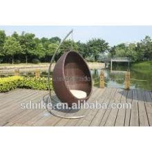 garden indoor rattan egg rattan swing hanging chair for adult