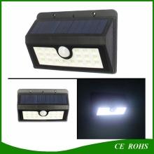 Super Bright Solar Light 20 LED Sécurité Capteur de mouvement Résistant aux intempéries avec trois modes intelligents pour l'extérieur