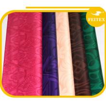 Bazin riche en gros damassé africain vêtement jacquard coton tissu