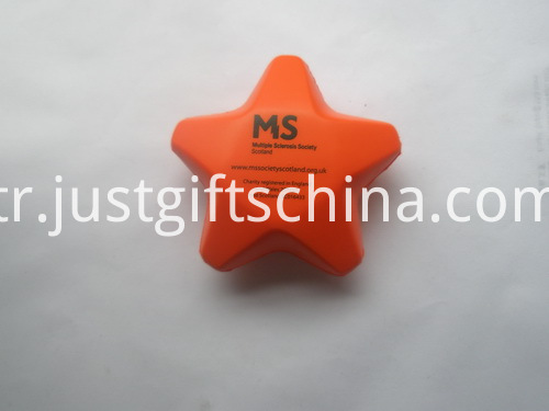 Star Shaped PU Stress Ball