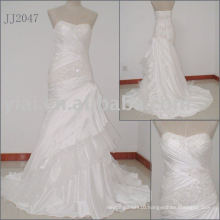 2010 Latest Most Stunning new real bridal wedding gown