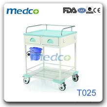 Trolley de tratamento de aço hospitalar T025