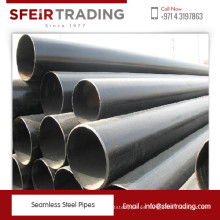 Fabricante líder de tubos de acero sin costura estándar de ASTM