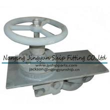 Vessel Roller Lever Chain Stopper