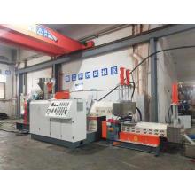 Kunststoffextruder zur Herstellung von Pellets Granulat Maschine