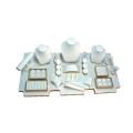 Contertop White Jewelry Ensembles d'affichage Windows Portable Wholesale