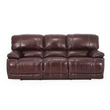 Alta qualidade e venda quente o sofá de couro função para uso da sala de estar
