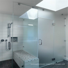 Safety Tempered Shower Clear Door Glass
