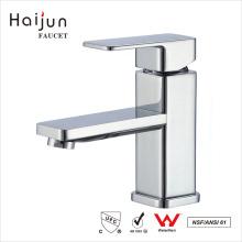 Haijun 2017 Promocional cUPC Single Hole Brass Body Bathroom Basin Faucet