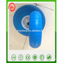 8 inch 2.50-4 high quality pu foam solid wheel for Japan, South Korea market
