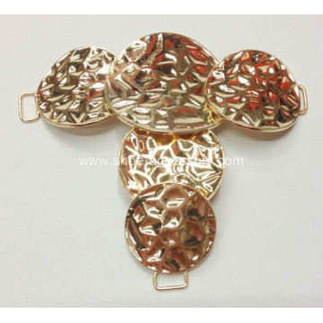 2013 Latest Round Sheet Metal Decorative Buckles