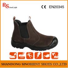 Sem sapatos de segurança Brown Lace RS499