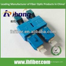 LC macho SC adaptador de fibra macho SM Duplex