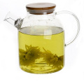 High borosilicate glass Glass teapot with infuser