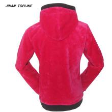 Jaquetas polar feminino com capuz