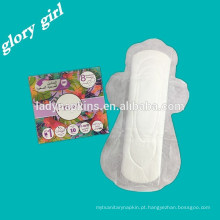 Guardanapos sanitários do algodão descartável do perfume da morango para o uso das mulheres
