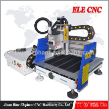 Venda quente ELE-4040 mini cnc router mental com CE, GV, ISO