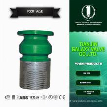 Hight Quality CE aprovado válvula de pé de tela com filtro