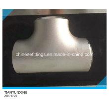 Pipe Fittings Stainless Steel Welded Equal Tee/Straight Tee
