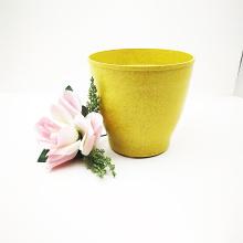 Degradable bamboo fiber flower pots home garden wholesales