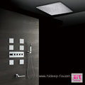 HIDEEP Thermostatic Four Function Brass Shower Faucet Set