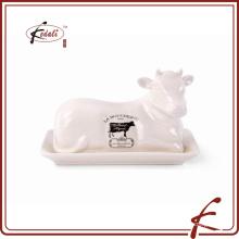 Корова формы декоративные каменные изделия маслом блюдо с деколь картины