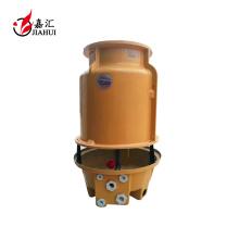 frp torre de enfriamiento de agua con relleno de pvc y ventilador de ABS