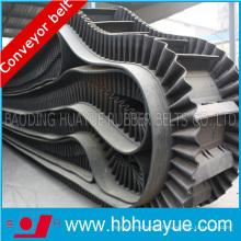 High-Quality Polyester/ Nylon Canvas Flat Conveyor Belt with Sidewall