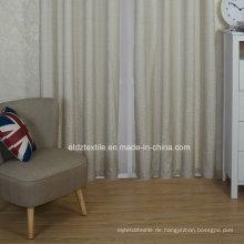 Top Grade Modern Pattern Polyester Garn gefärbten Fenster Vorhang Stoff