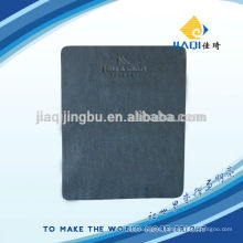 grey microfiber lens cleaning cloth