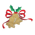 Ornamen Natal Ornamen Holiday Bordir Patch