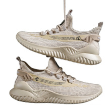 2021 Top Sell Quality sport shoes Fly woven upper Sneakers shoes men running casual sport shoe