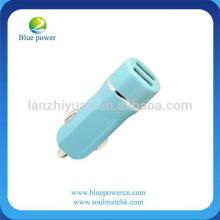 Promocional micro Dual USB 4.8 Amp SMART universal de alta capacidad FAST cargador de coche