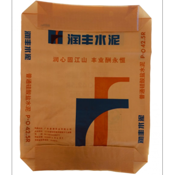 Woven bags for cement bag packaging