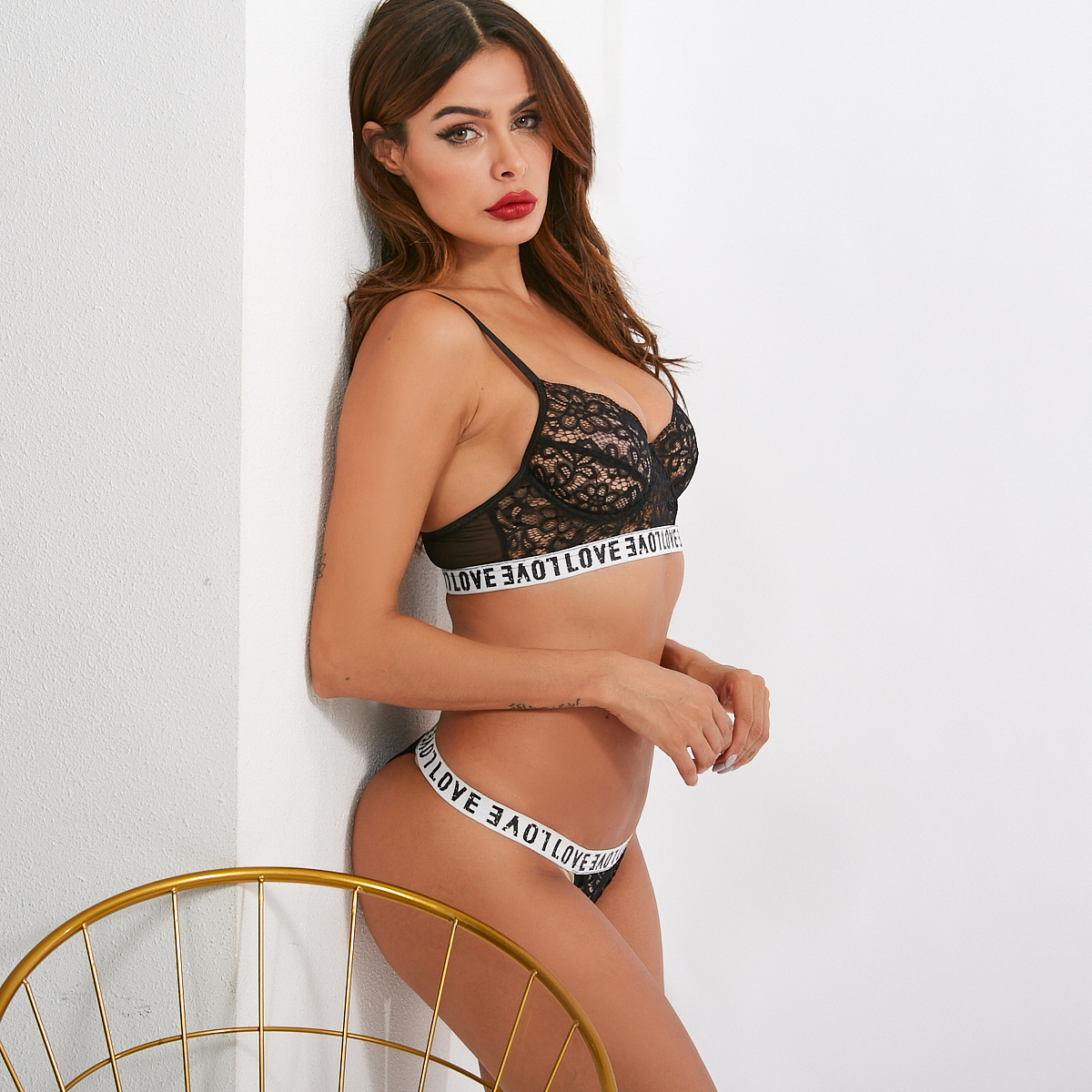 blace lace lingerie for slim girls