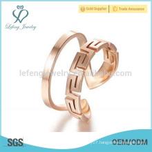 Handmade rose gold rings for women,design your own championship ring